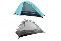 Палатка Naturehike Wind-Wing Tent For Three Seasons (1 men, sky blue)