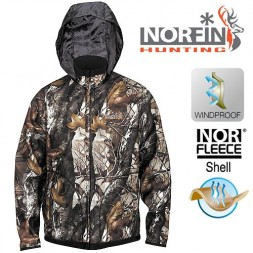 Куртка Norfin Hunting TRUNDER STAIDNESS/BLACK 02 р.M