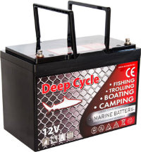 Аккумулятор MArine Deep Cycle GEL 12V 90Ah(10hr)